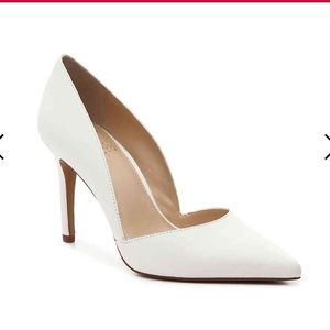 White Vince Camuto Heels